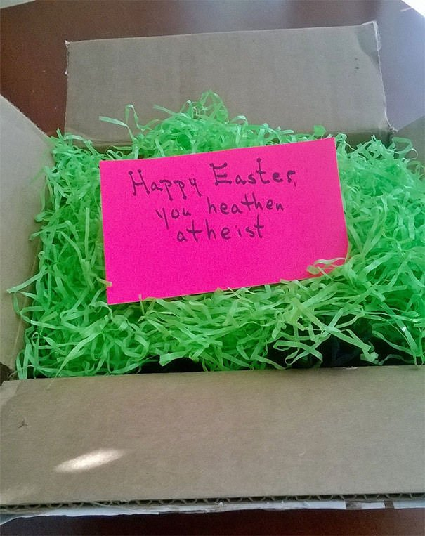 My Mom Sent Me An Easter Care Package