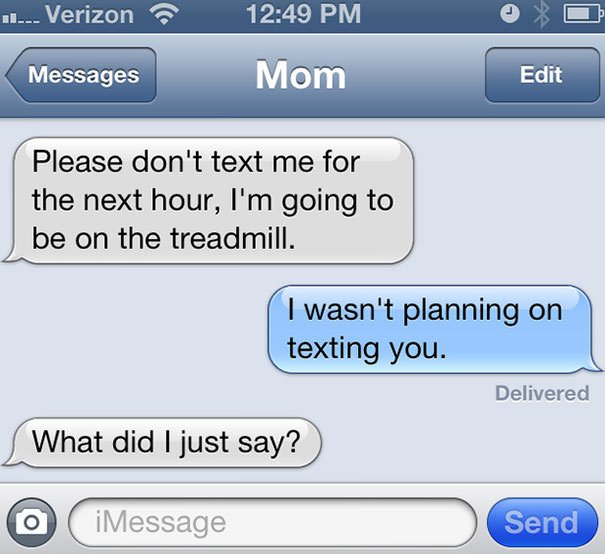Oh, Mom ...
