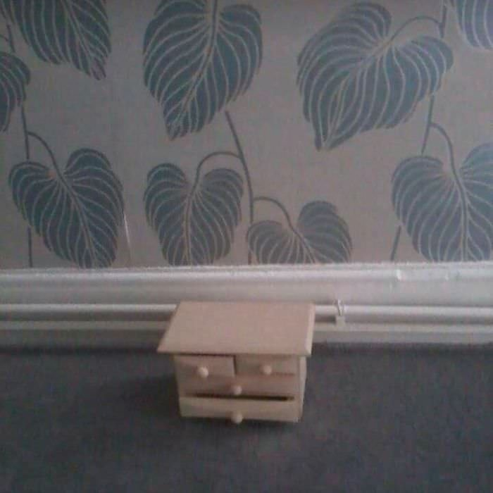 These Chest Of Drawers Will Forever Haunt Me. When You Order A Chest Of Drawers And Don