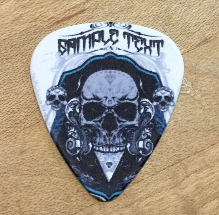 """Ordered Guitar Picks From China. """"Sample Text"""" Is Now My New Band Name"""