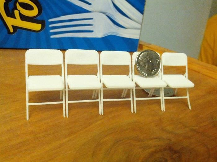 Friend Accidentally Bought These Folding Chairs Online For His Nye Party. Only 5 For !