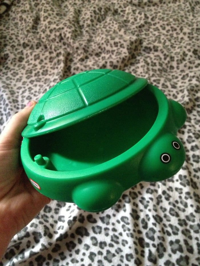 So My Sister Bought A Sandbox Off Of Ebay For Her Daughter. Yeah, Not What She Expected