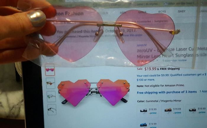 These Sunglasses I Ordered