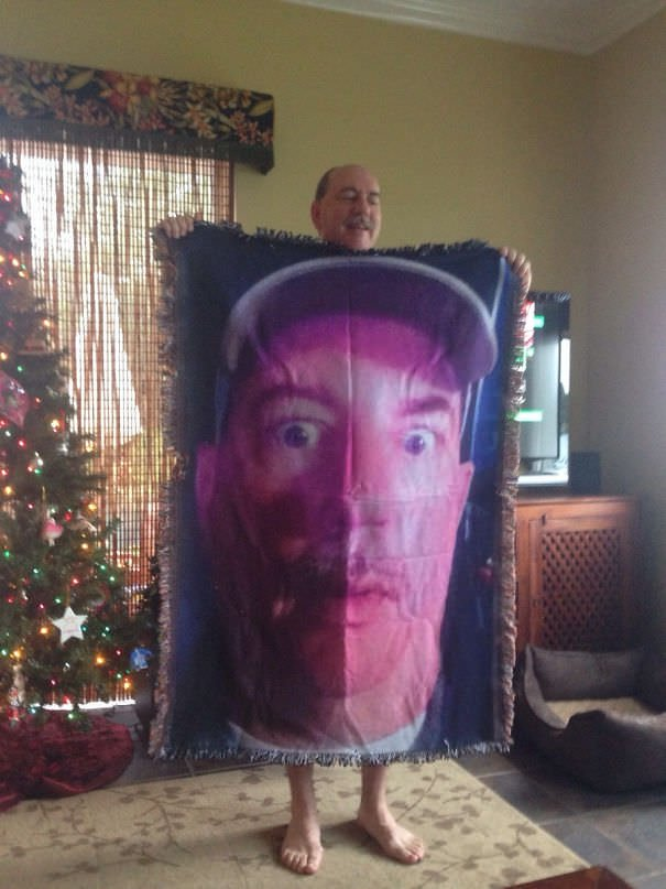 I Have Seen A Lot Of Blankets On Reddit Today So Here Is My Dad