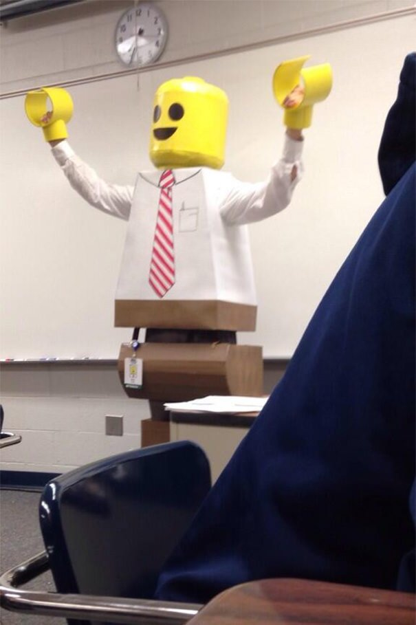 My Teacher Made A Fantastic Costume