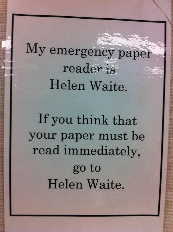 From My English Teacher