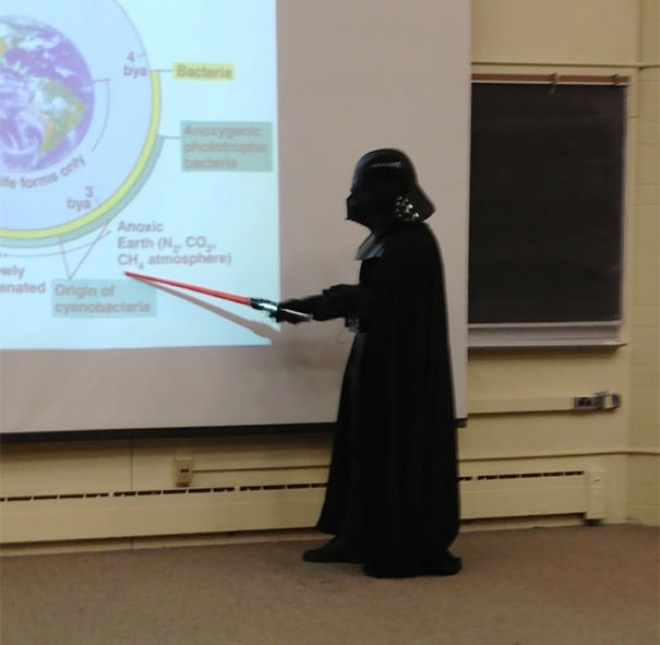 My Microbiology Professor Did The Entire Lecture Like This