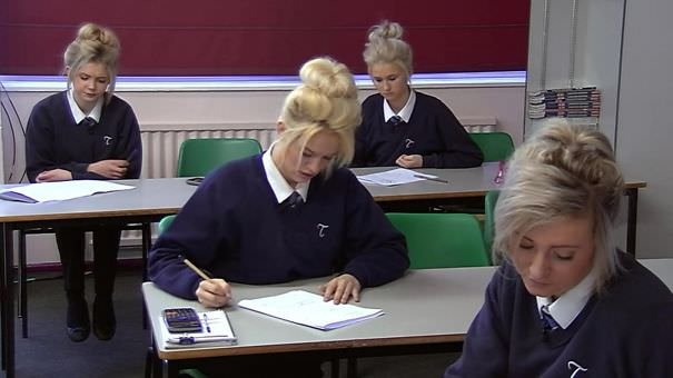Was Watching Educating Yorkshire When There Was A Glitch In The Matrix..