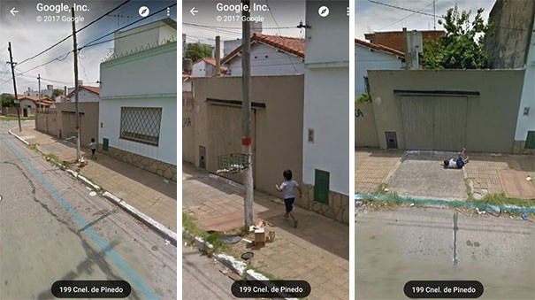 This Kid On Google Maps Trying To Get By