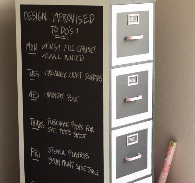 chalkboard-paint-file-cabinet