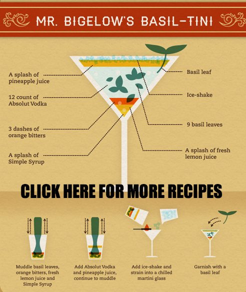 The rest of the recipes for fancy drinks can be found here. Know at least one drink recipe to impress guests or dates. Same goes with food. Click above for the recipes you should know.