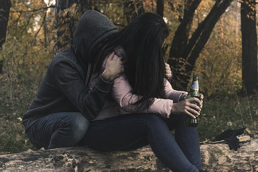 여성 알코올 중독, 여자, 소녀, 알콜, 알코올 중독, 술고래, 의존