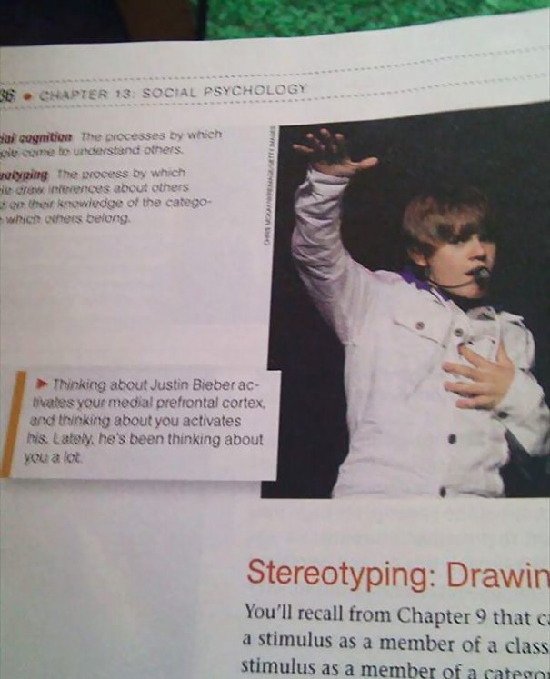 Get Out Of My Psychology Textbook