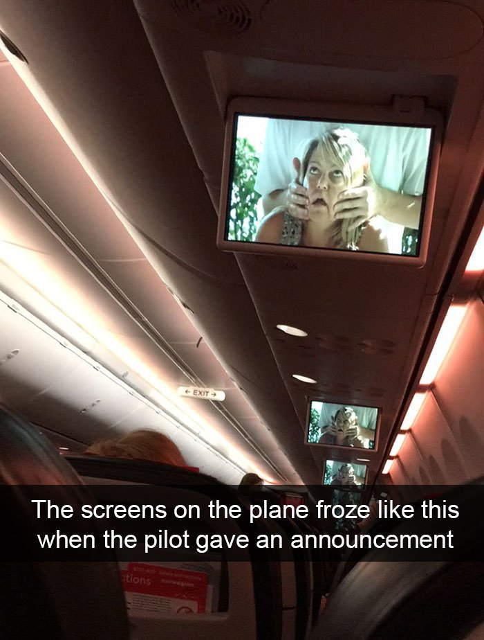funny things happened on plane