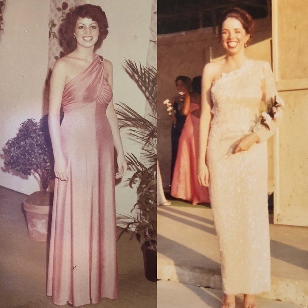 """My mom in 1976 and me 25 years later at the Coles County Pageant"" —heatherh4e4fd0226"