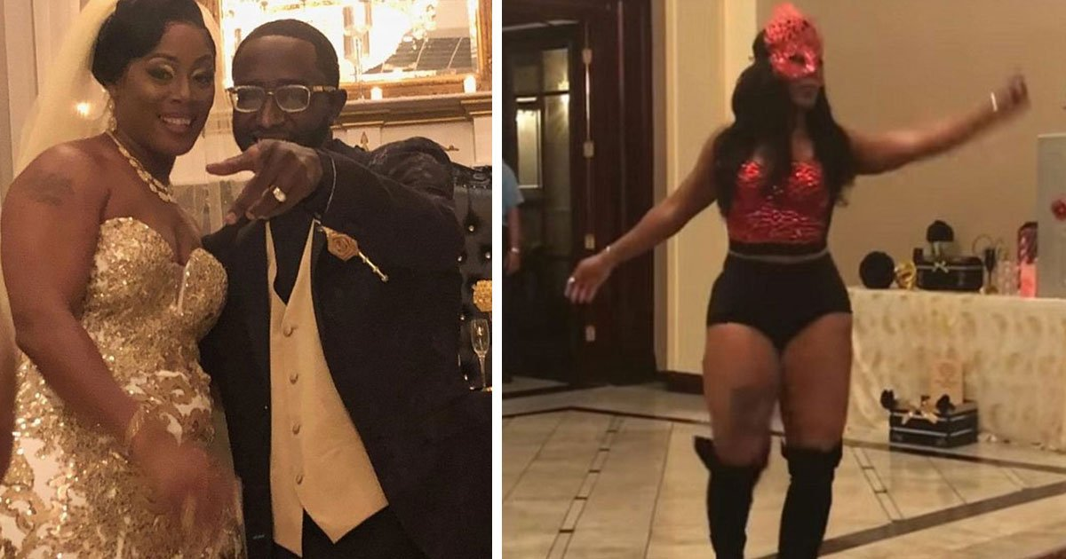 abc13 houston.jpg?resize=636,358 - A Texas Bride Has Become An Internet Sensation After Twerking At Her Reception In Hot Pants