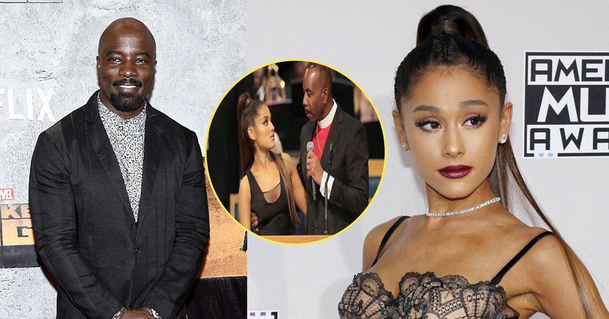 ariana grande groped.jpg?resize=1200,630 - Luke Cage pede desculpas por tweet sobre Ariana Grande ser apalpada por um um pastor no funeral de Aretha Franklin