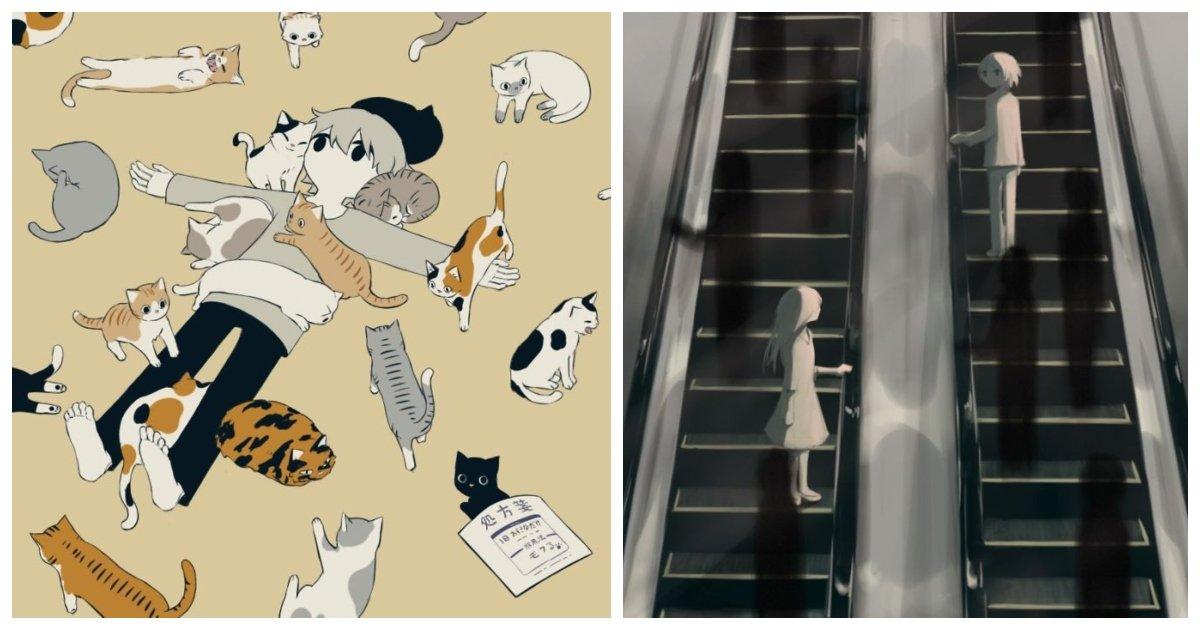 artist.jpg?resize=412,232 - Ces illustrations d'un artiste japonais décrivent très bien les émotions humaines
