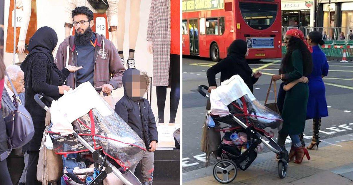 begging gangs.jpg?resize=412,232 - Des groupes de mendiants utilisent des enfants pour cibler les acheteurs fortunés de Londres