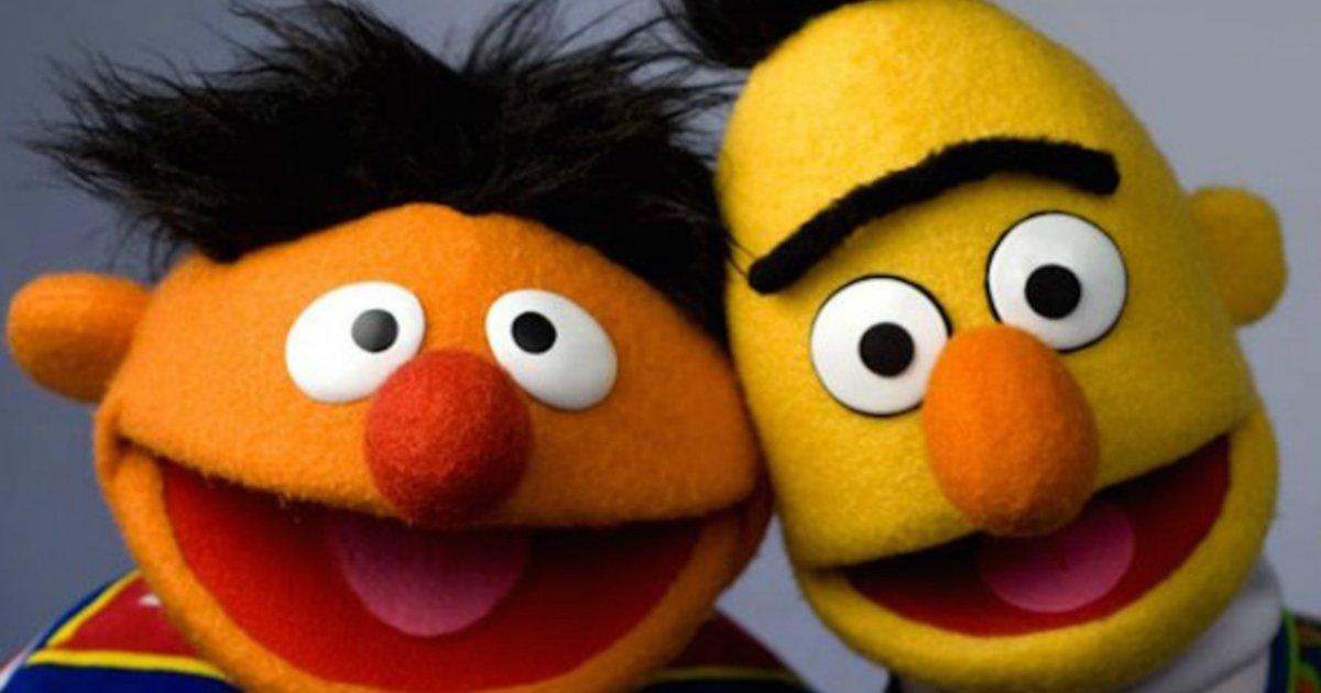 bert and ernie.jpg?resize=412,232 - Le moment où l'auteur de Rue Sésame a confirmé que Bert et Ernie formaient un couple gay !