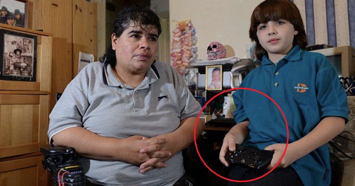 bg.jpg?resize=636,358 - Filho gasta £1.193,25 e deixa mãe cadeirante sem um único centavo para pagar contas e mercado
