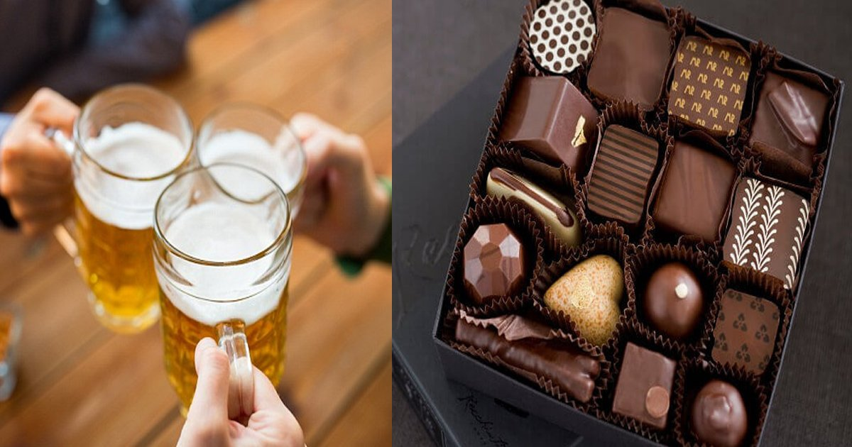 bhsh.jpg?resize=412,232 - Study Finds People Who Enjoy Beer, Wine And Chocolate Live Longer As Compared To Those Who Don't