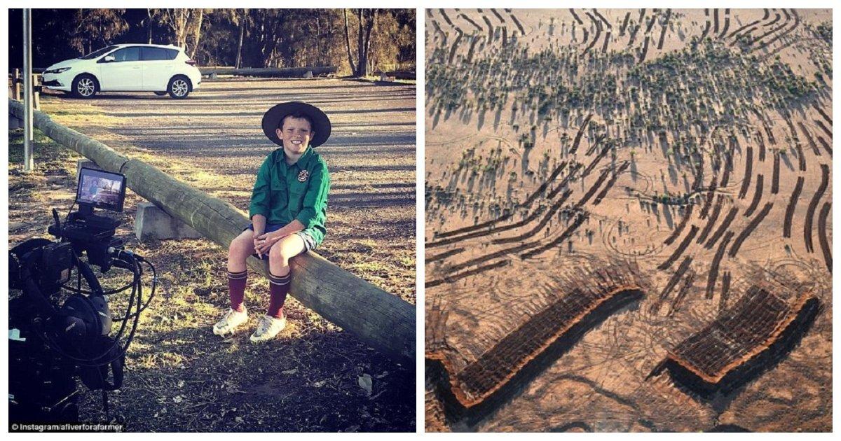 boy 2.jpg?resize=1200,630 - Ce garçon de dix ans a réussi à réunir un million de dollars pour aider les agriculteurs australiens frappés par la sécheresse!