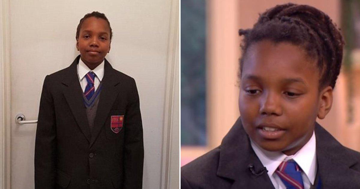 boy5.png?resize=412,275 - Menino de 12 anos vence processo de discriminação racial contra a escola que queria que ele cortasse seus dreadlocks