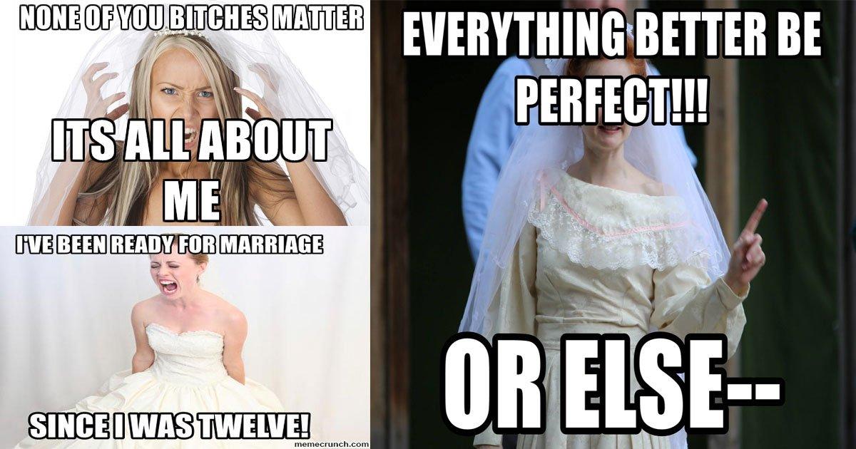 bridezilla.jpg?resize=412,232 - Une femme a partagé une liste de règles BIZARRES pour un mariage à venir qui comprend  «Ne parlez pas à la mariée du tout»