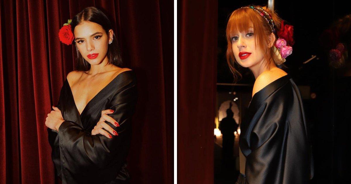 brunamarina.png?resize=1200,630 - Bruna Marquezine e Marina Ruy Barbosa desfilam na Semana de Moda de Milão