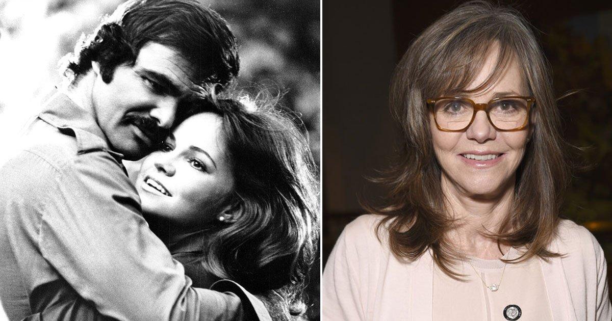 """burt and sally.jpg?resize=636,358 - """"Il sera dans mon cœur, aussi longtemps que je vivrai"""", déclare Sally Field au sujet de Burt Reynolds"""