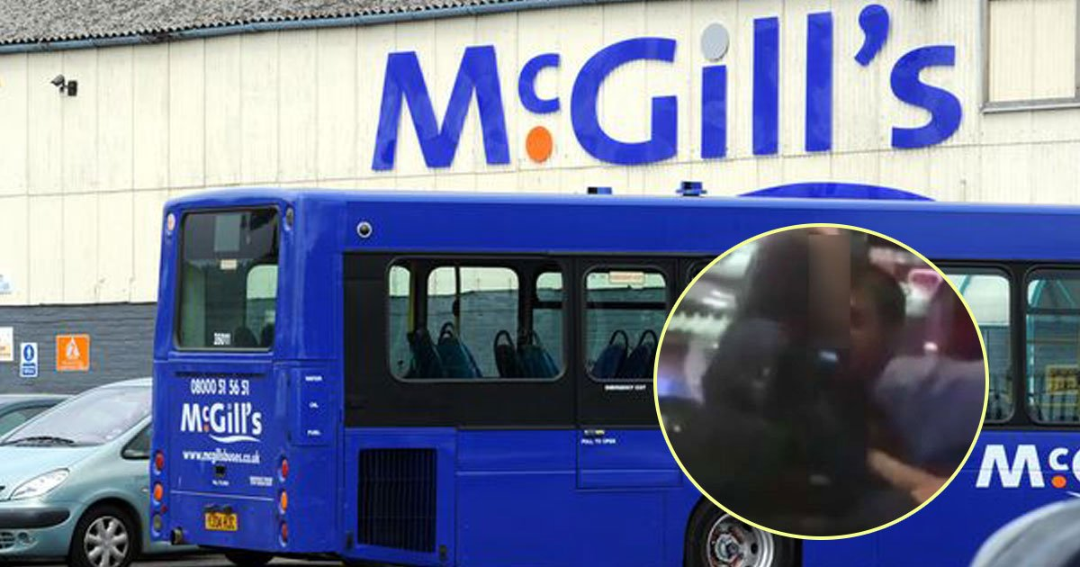bus driver assault.jpg?resize=636,358 - Footage Shows McGill's Bus Driver Fondling A Drunk Teenage Girl And Asking For Her Phone Number