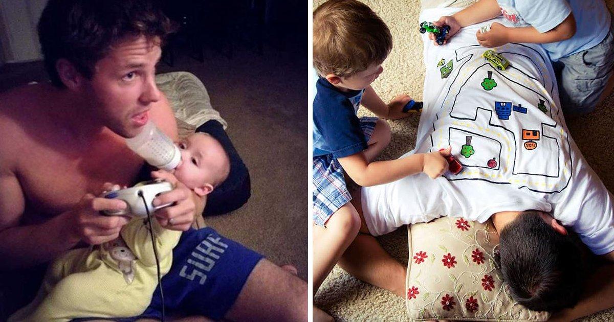capa888.png?resize=412,232 - 15 pais que foram super criativos na hora de tomar conta de seus bebês