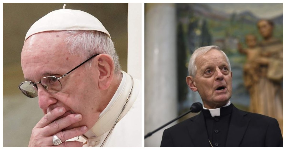 """cardinal.jpg?resize=1200,630 - Em meio a escândalo de abuso sexual na igreja, frequentador grita """"Que vergonha!"""" para cardeal Wuerl durante pedido de desculpas"""