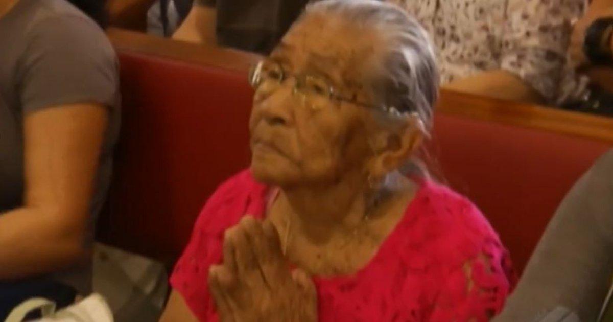 celestina.png?resize=636,358 - Aos 100 anos, devota realiza o sonho de conhecer Basílica de Nazaré