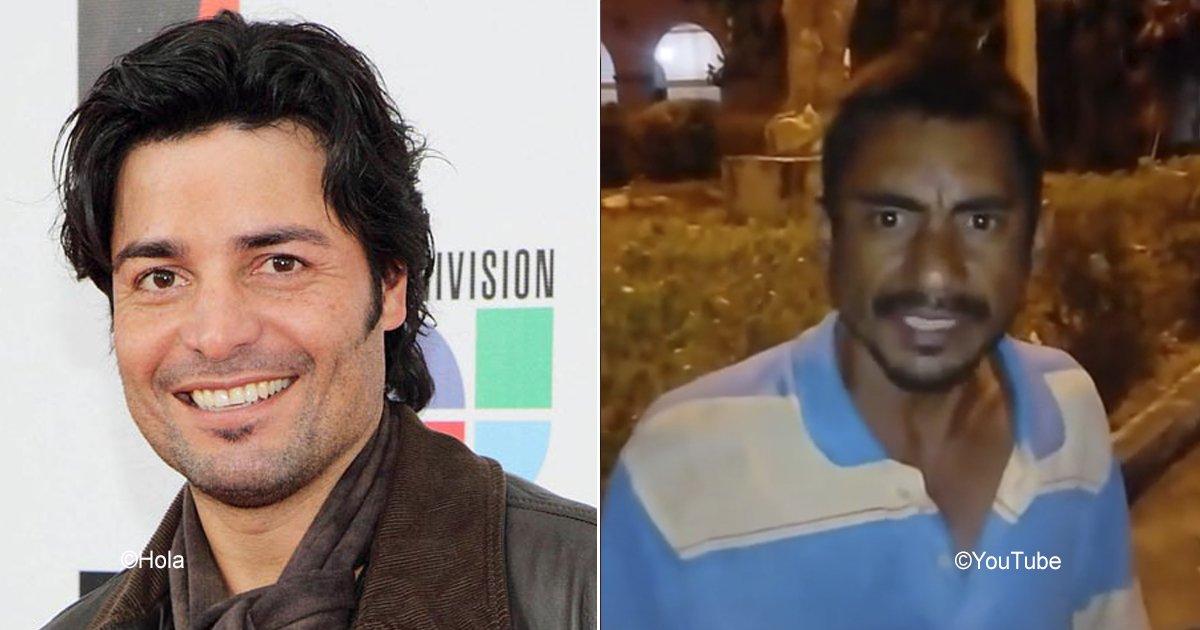 chayanne.jpg?resize=648,365 - Encontraron un imitador de Chayanne, se trata de un indigente que canta idéntico al puertorriqueño