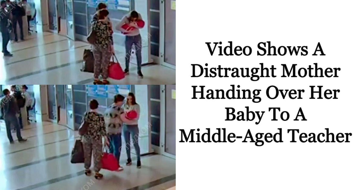 child trafficking.jpg?resize=300,169 - CCTV Footage Shows A Mother Handing Over Her Newborn To A Teacher For $40 As She Was Unable To Raise Her