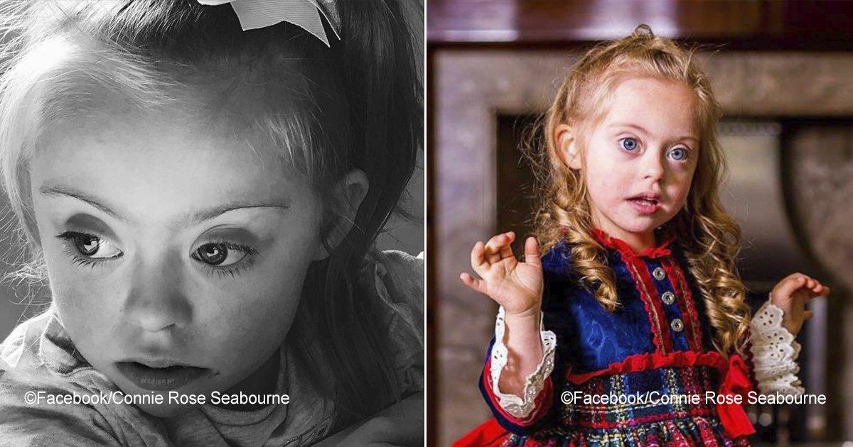 connierose.jpg?resize=1200,630 - Linda modelo de 5 anos com síndrome de Down está derretendo os corações das pessoas com seu lindo sorriso
