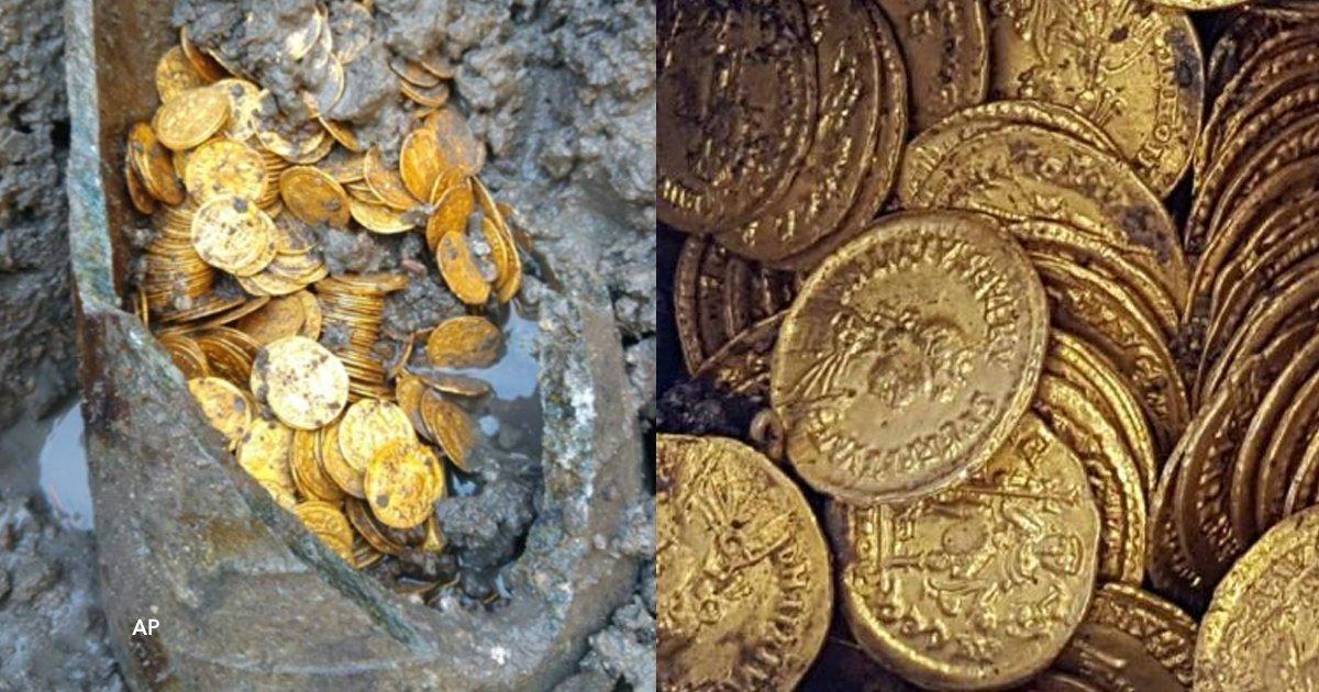 cover22 18.png?resize=300,169 - Foram encontradas centenas de moedas de ouro do Império Romano enterradas sob um teatro