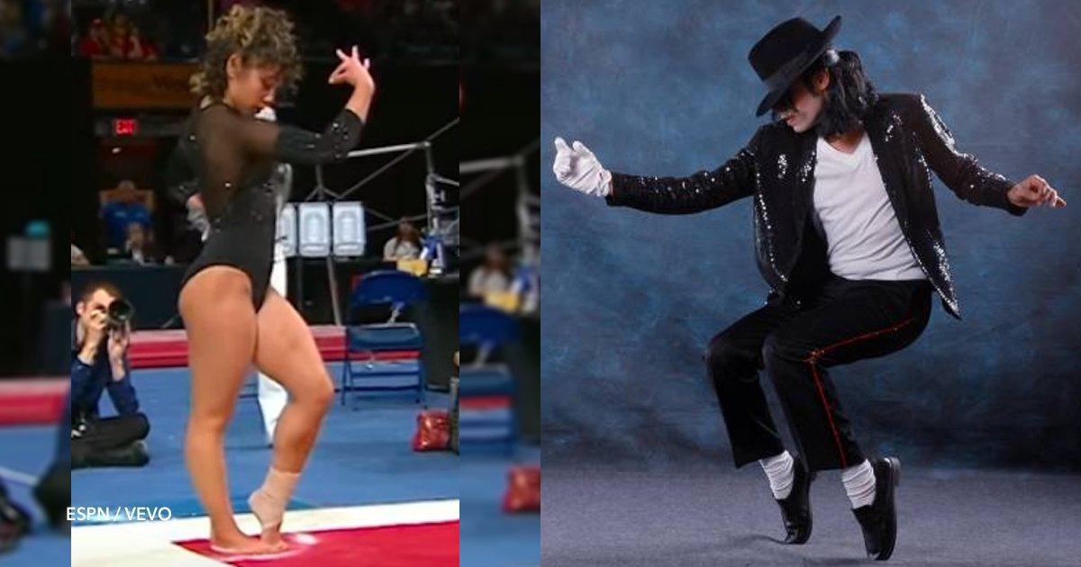 cover22 19.png?resize=636,358 - O desempenho impressionante desta ginasta que alcançou uma pontuação perfeita ... ao ritmo de Michael Jackson!