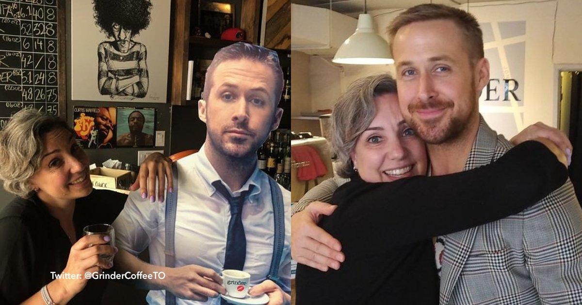 cover22 35.png?resize=300,169 - Ryan Gosling visitó por sorpresa una cafetería en Canadá y le cumplió el sueño a la dueña