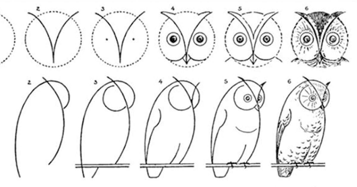 15 Dibujos A Lápiz Que Son Muy Fáciles Para Dibujar Con Los Niños
