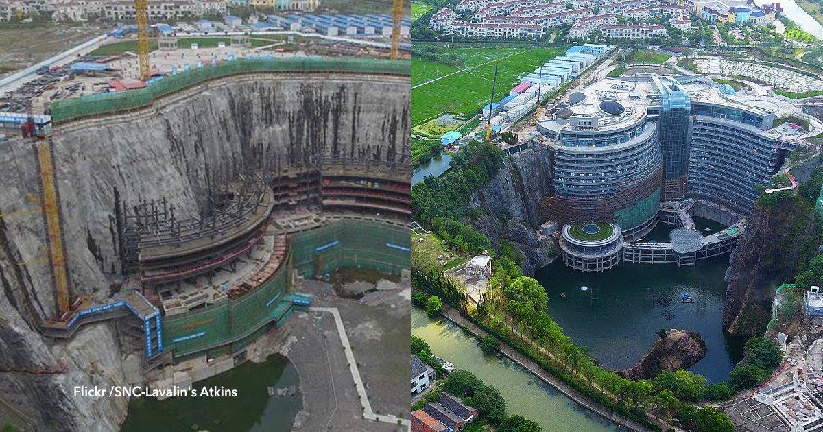 cover22 95.png?resize=412,232 - Convirtieron una gigantesca mina abandonada en uno de los hoteles más lujosos de China
