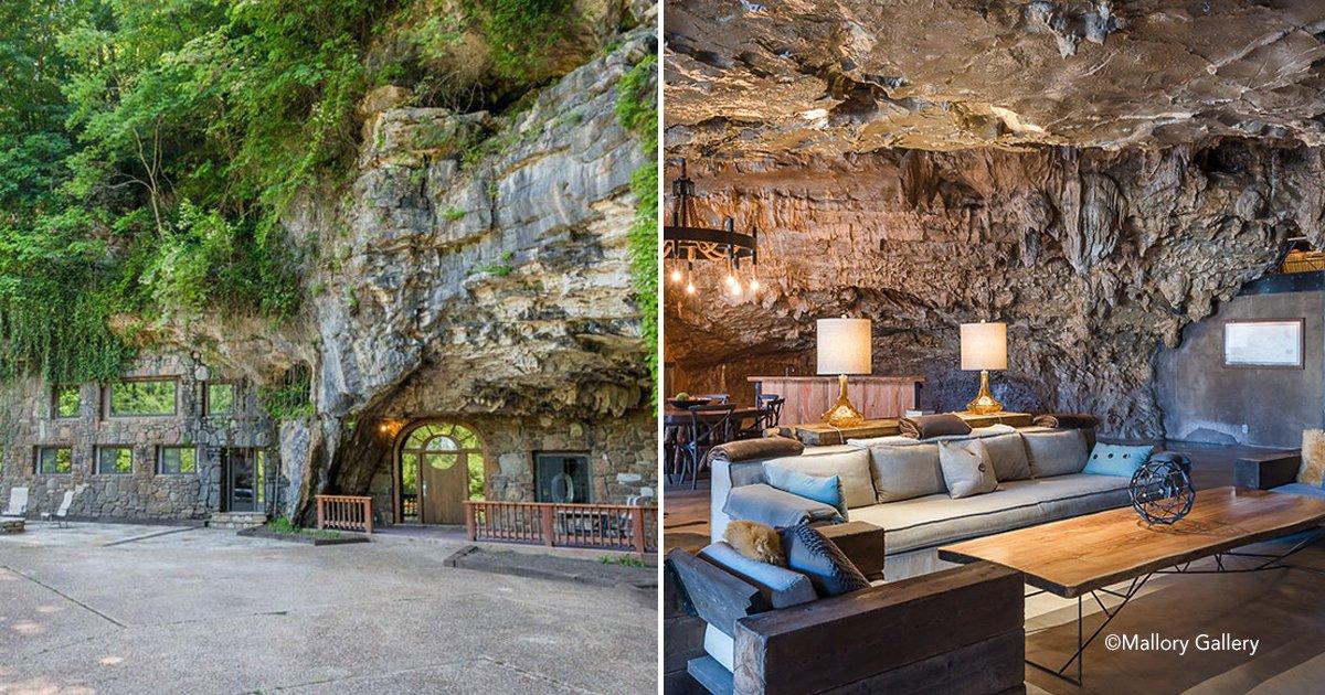 coverss.jpg?resize=412,232 - Esta incrível casa escondida dentro de uma caverna está à venda, e o interior é ainda melhor que o exterior