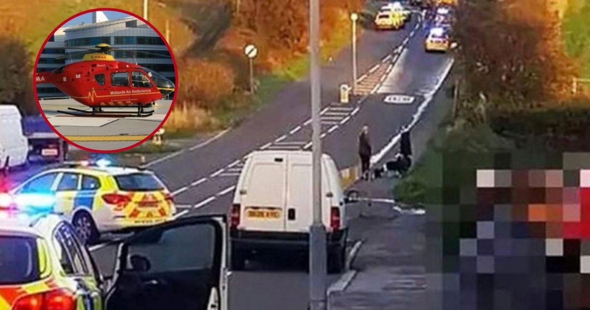 crash2.png?resize=1200,630 - Des policiers ont sorti un homme de 72 ans d'une voiture écrasée pour qu'il puisse dire au revoir à sa famille