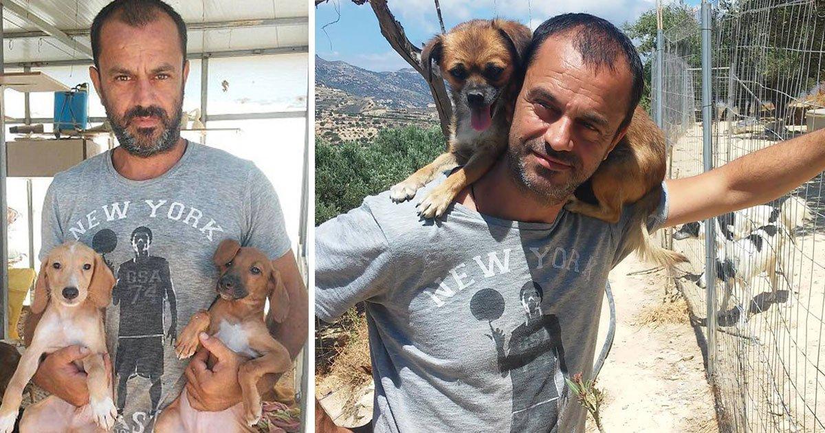 dog saviour.jpg?resize=300,169 - Dentista dejó su carrera para salvar perros - ahora posee un refugio para perros y ha salvado 500 perros hasta el momento