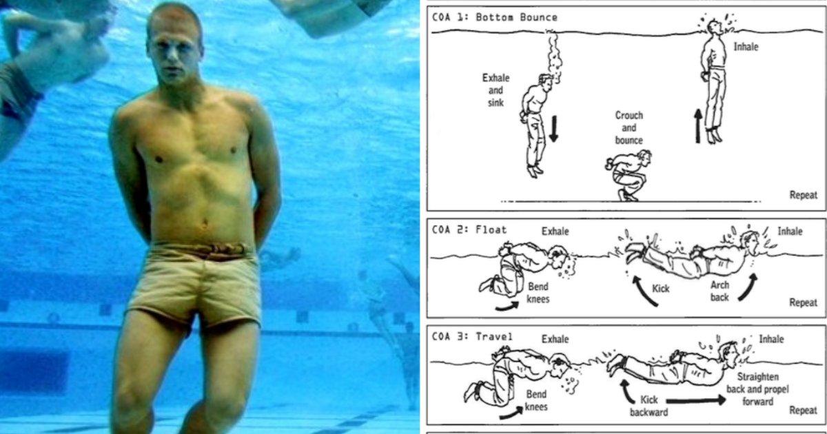 drowning.jpg?resize=1200,630 - Un marin militaire explique comment survivre si vous êtes en train de vous noyer.