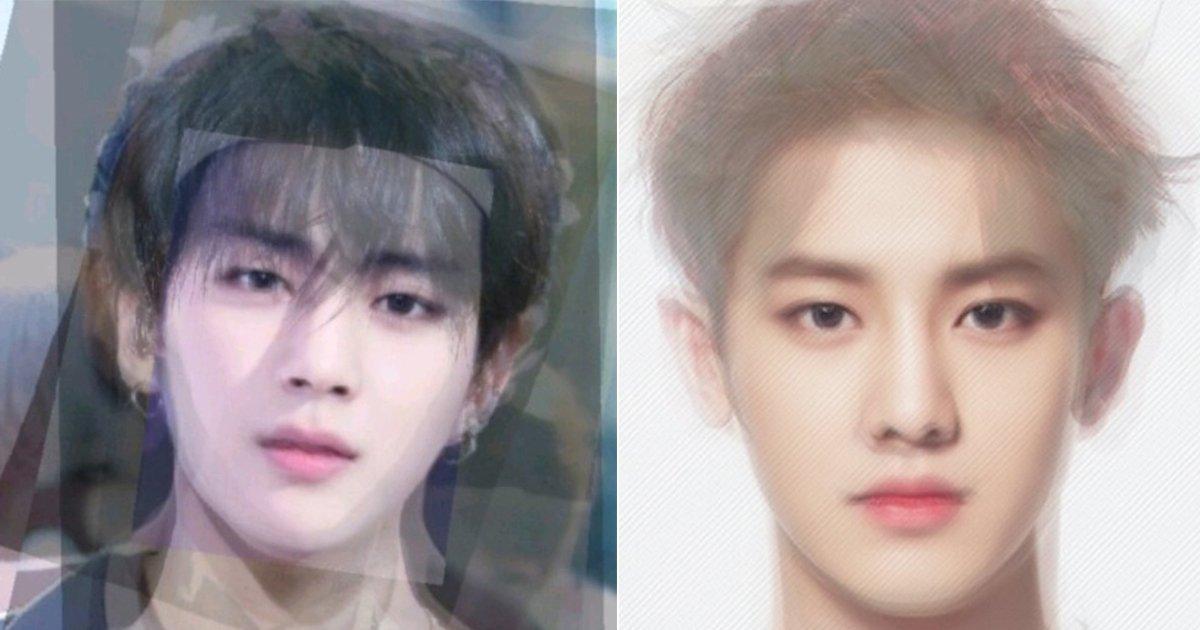 ec9584ec9db4eb8f8ced8f89eab7a0.jpg?resize=300,169 - 남자 아이돌들의 '평균 얼굴' 모음.jpg