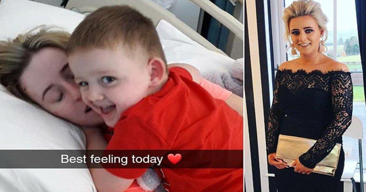featured image 22.jpg?resize=412,232 - Un petit garçon retrouve sa mère après qu'elle se réveille du coma à la suite d'un terrible accident qui a coûté la vie à 2 personnes