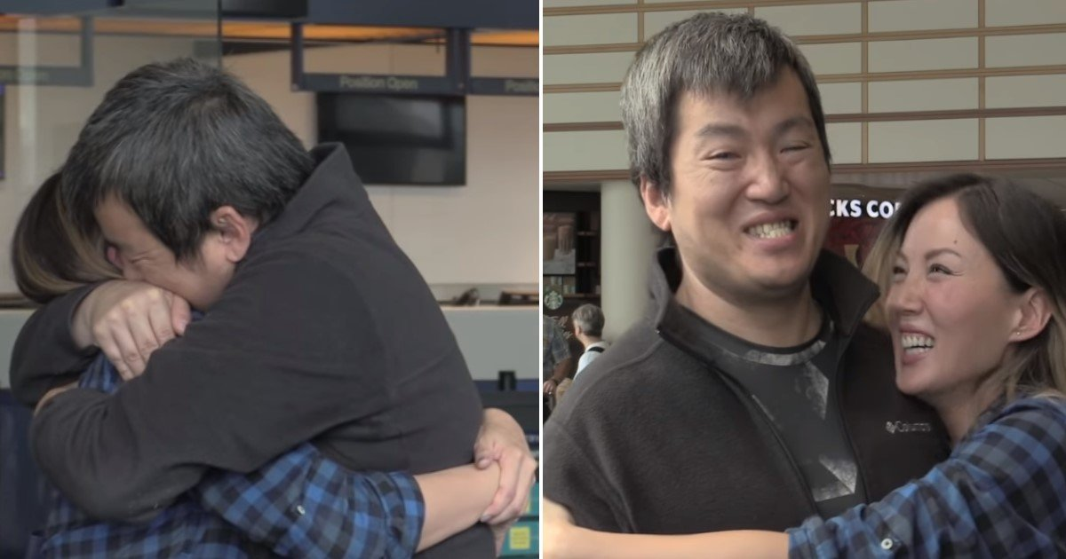 featured image 61.jpg?resize=412,232 - Tearful Moment Siblings Abandoned In South Korea Reunite In The US After 34 Years Of Separation